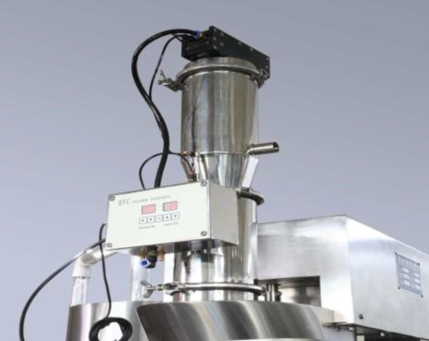 A removable powder loading device for SaintyCo NJP - 1200 capsule filler