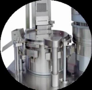Latest design of automatic capsule filler turret