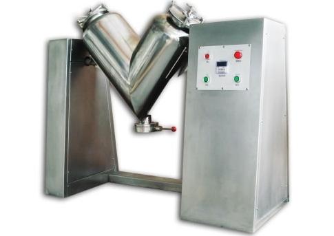A V-type mixer machine