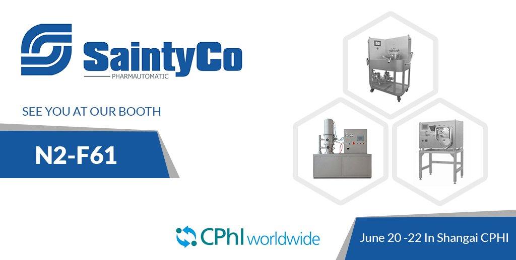 CPHI Pharma Exhibition of Saintyco