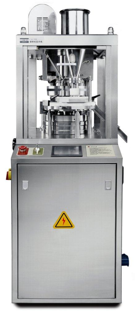 An Mpress tableting machine