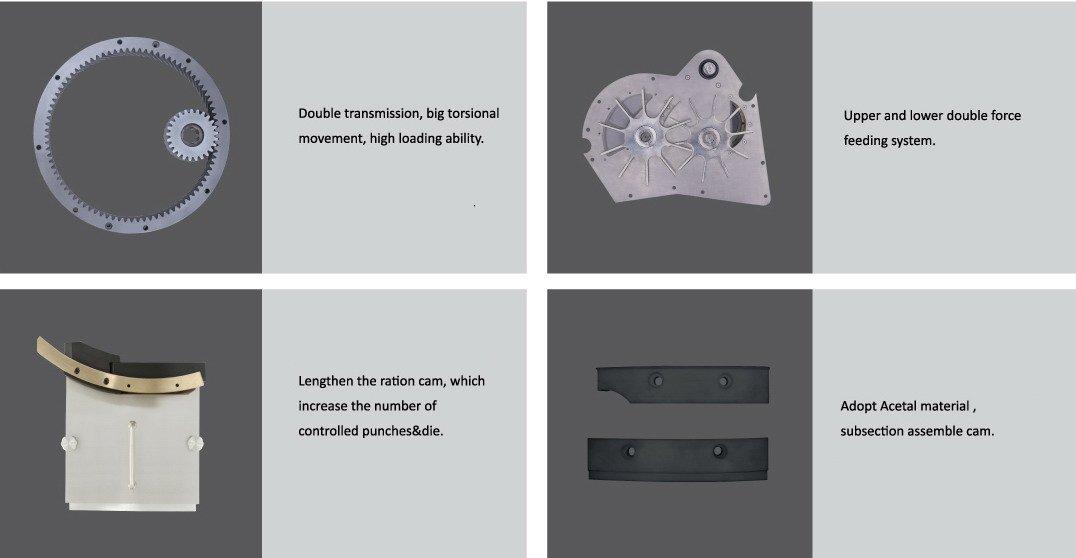 Tablet press machine parts