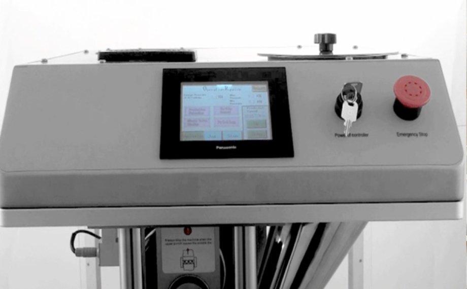 PLC control for tablet press machine