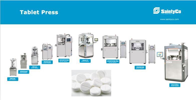 saintyco tablet press machine