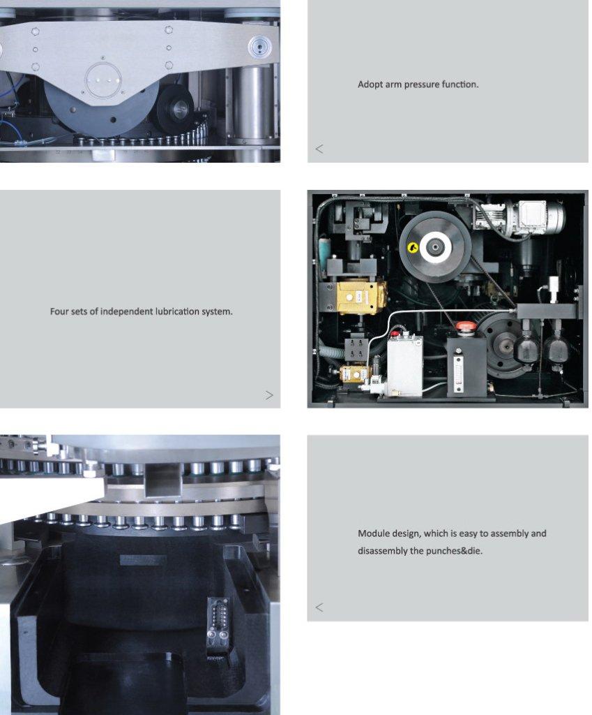 AdvantaPress Plus Double-Slide Tablet Press Machine details