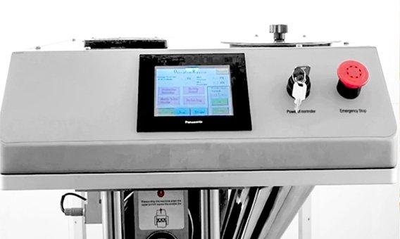single punch tablet press PLC