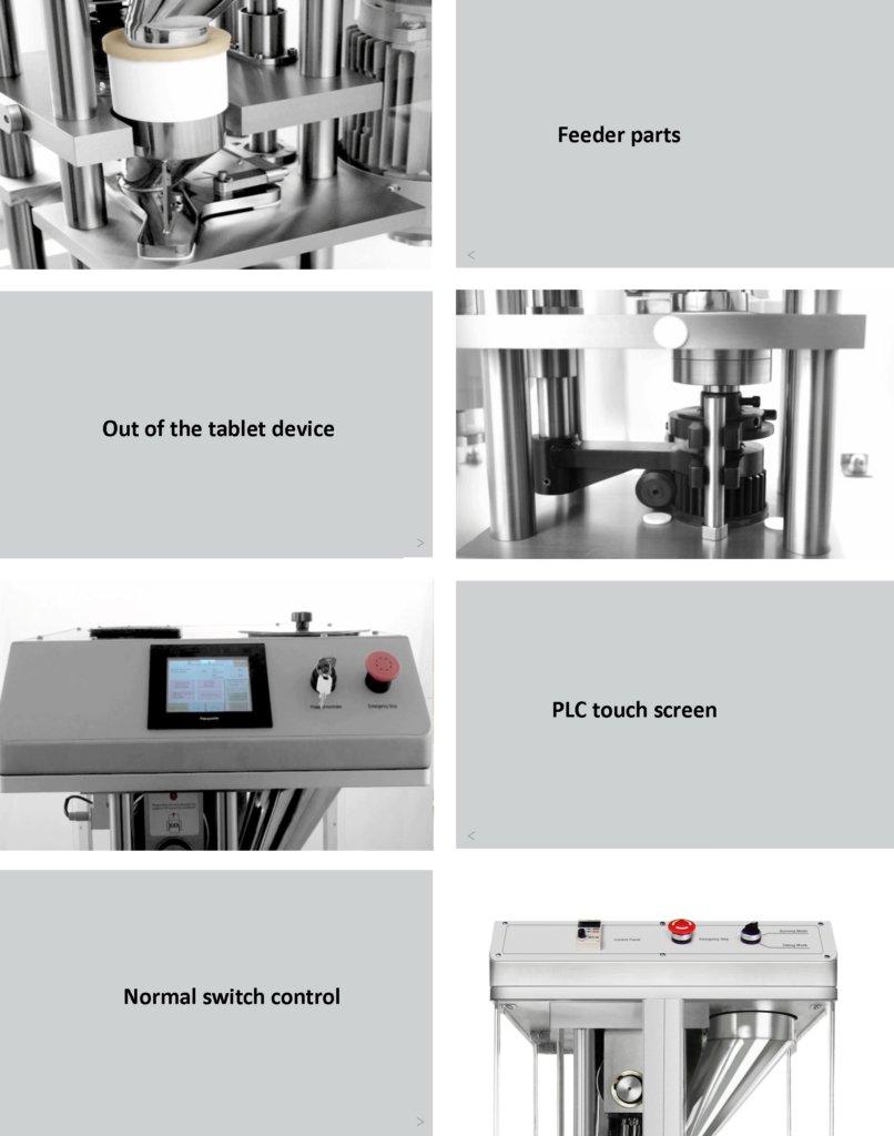 single punch tablet press details