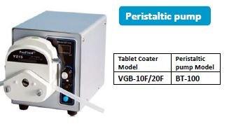 A peristaltic pump for high shear granulation machine
