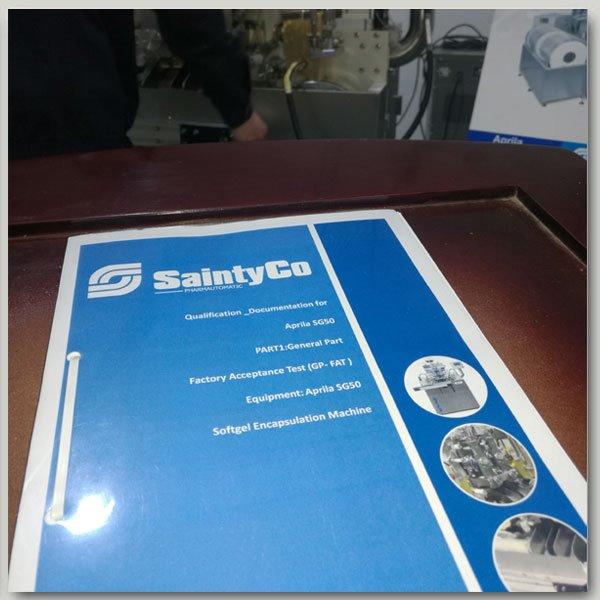 FAT manual of softel machine