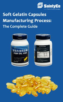 Soft Gelatin Capsules Manufacturing Process The Complete