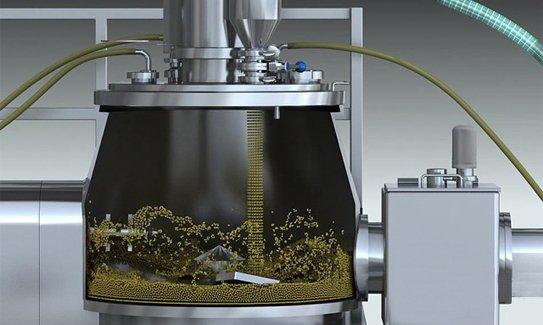 Rapid Mixer Granulator Rapid Mixture Granulator Manufacturer