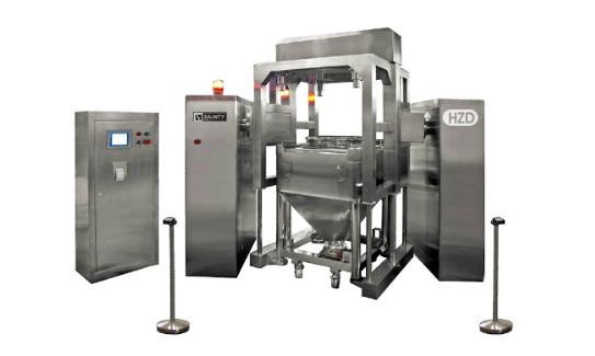 HZD400-2000 Pharma IBC Blending System