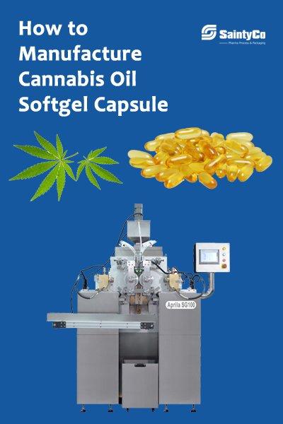 Cannabis Oil Softgel Capsule machine