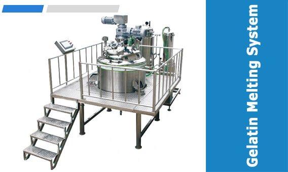 Softgel Gelatin Melting System