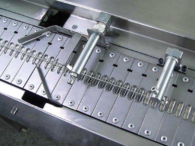 Capsule printing bed