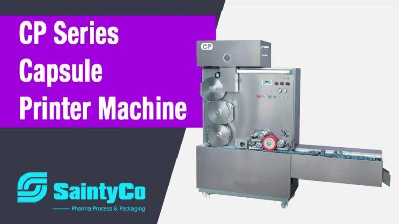 Capsule printer machine