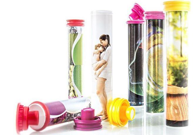 Packaging in tubes