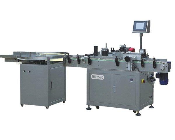 High speed wrap around labeling machine