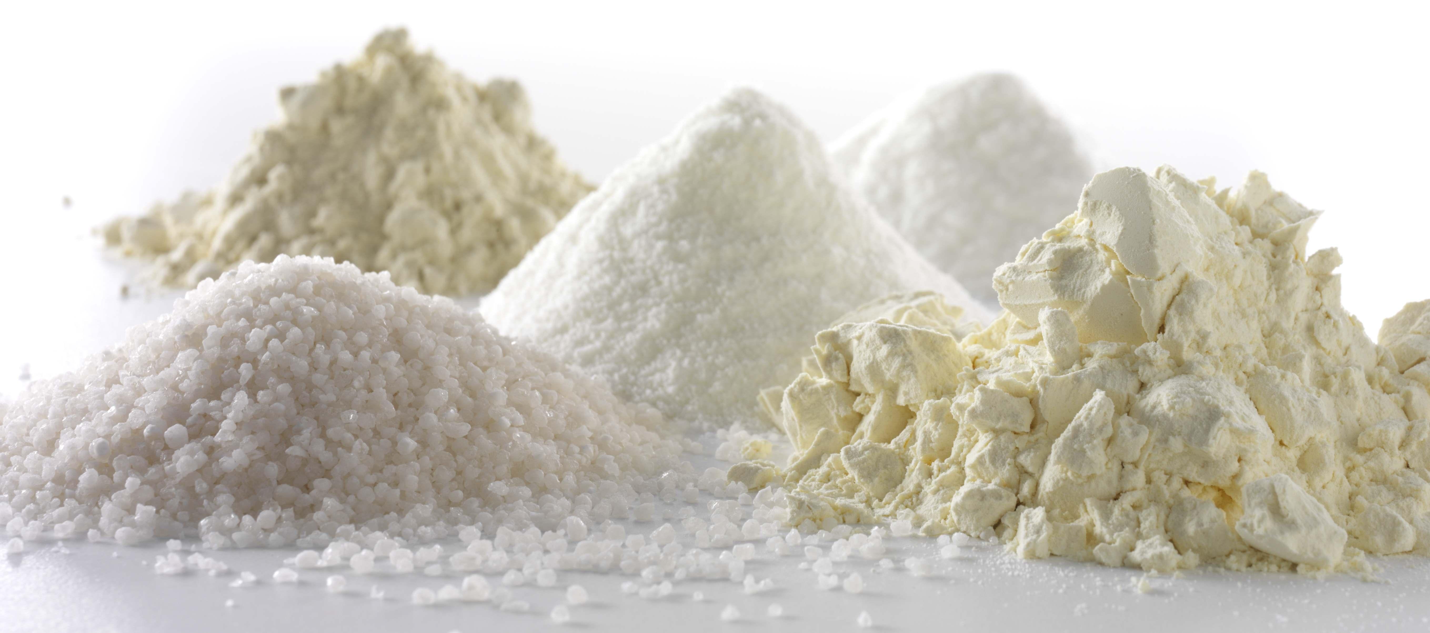 Mixing powder