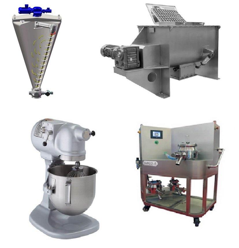 Laboratory mixer designs