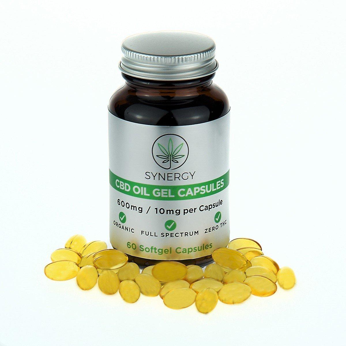 CBD Softgel capsules