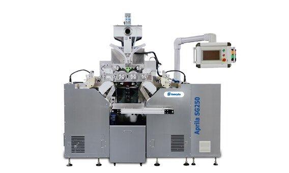 Rotary die softgel encapsulation machine