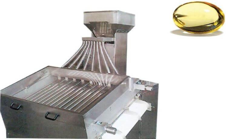 Softgel sorting machine