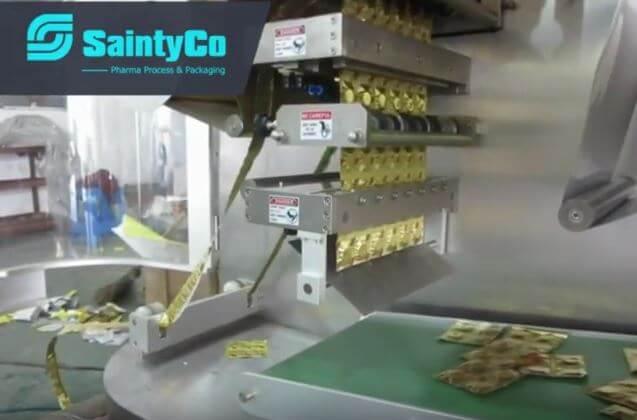 Strip packaging process