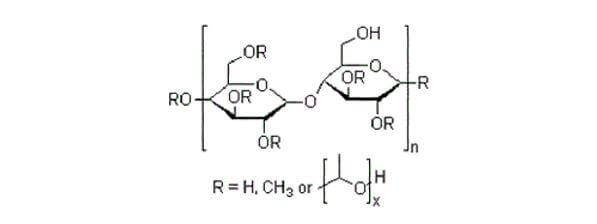structural formula of HPMC