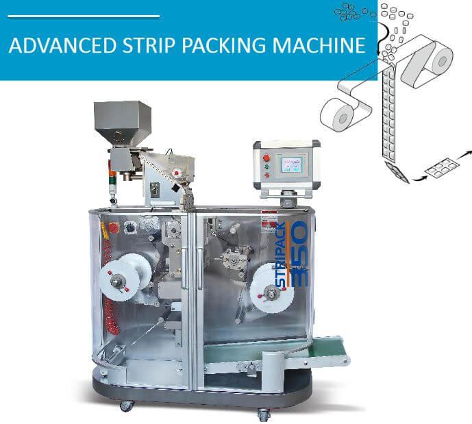 Advanced strip packing machine