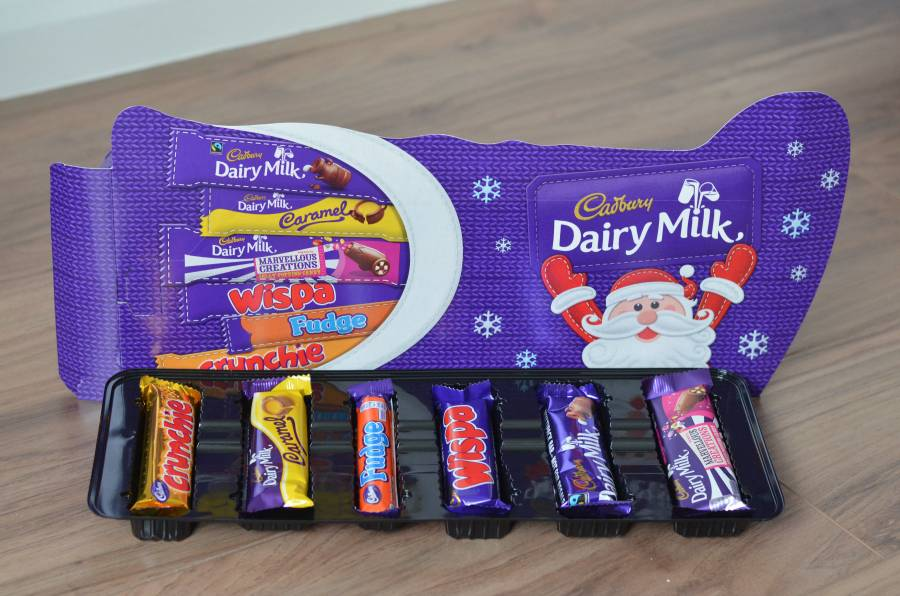 Wrapping chocolate in different packages