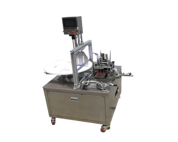 High speed face mask folding machine