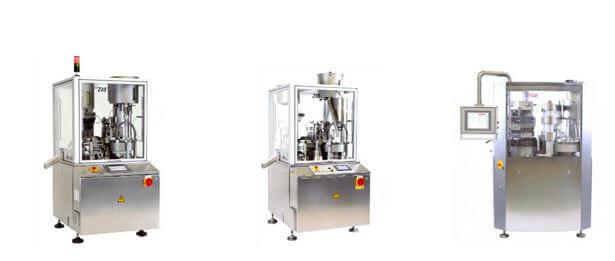 Saintyco dosator type capsule filling machine