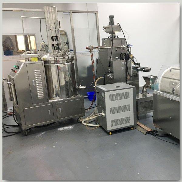 softgel manufacturing line