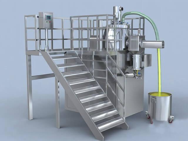 High shear mixer granulation machine