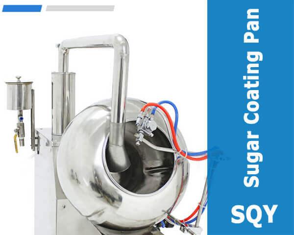 Sugar coating pan
