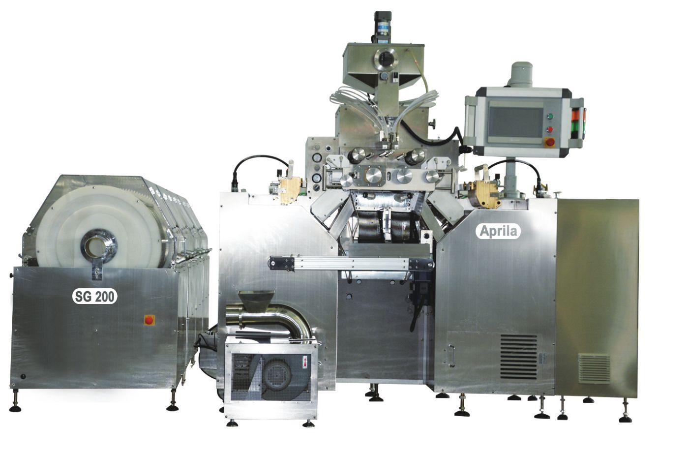 Softgel encapsulation machine