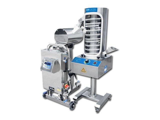 Tablet deduster machine