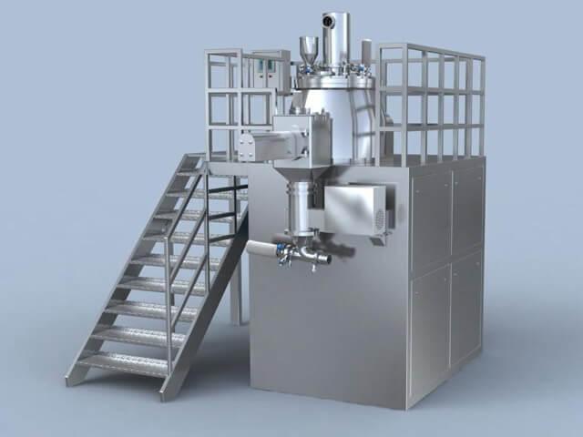 High shear mixer design