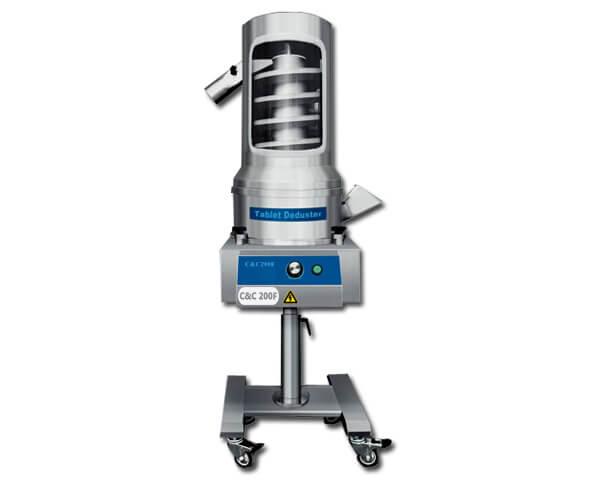 Tablet dedusting equipment