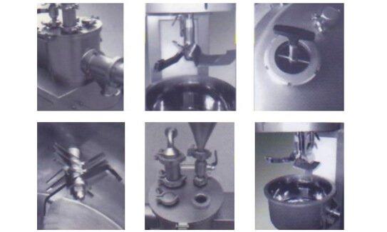 High shear mixer granulator components