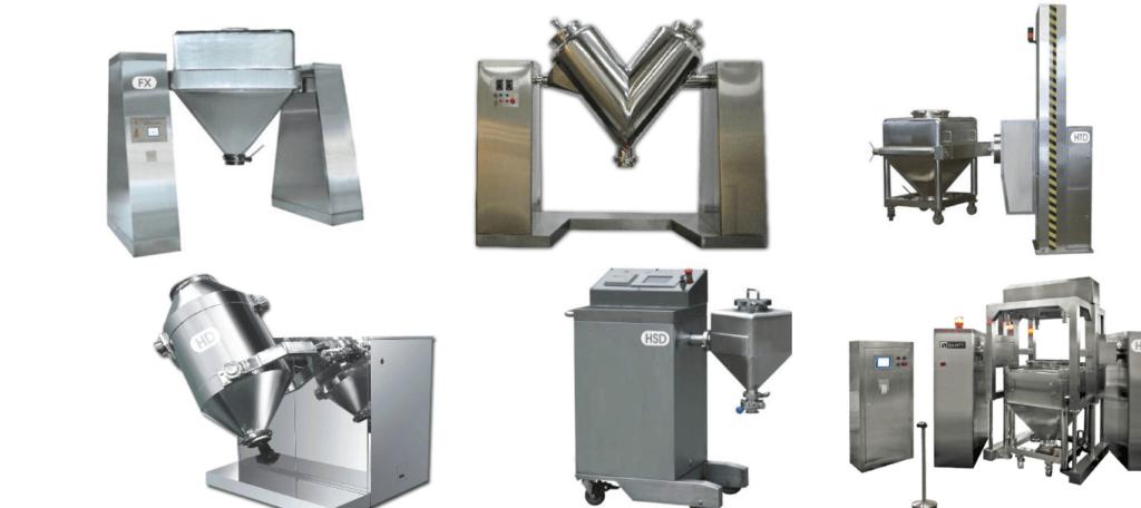 Bin mixer equipment