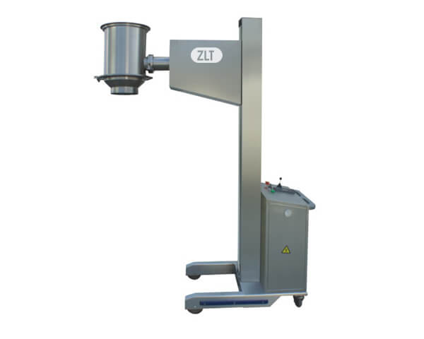 Movable lifting column