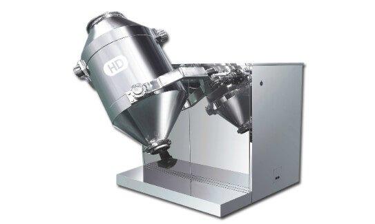 Single column bin mixer