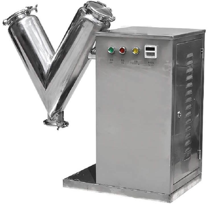 single arm V mixer