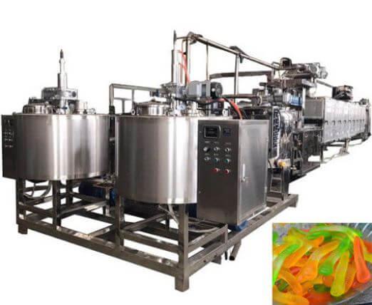 Jelly making machine