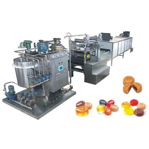 Hard candy making equipment