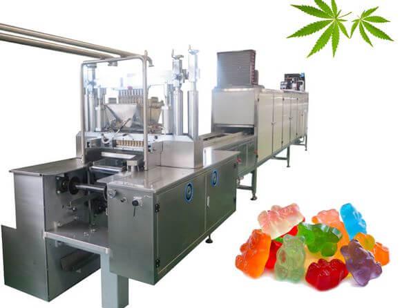 Gummy making machine