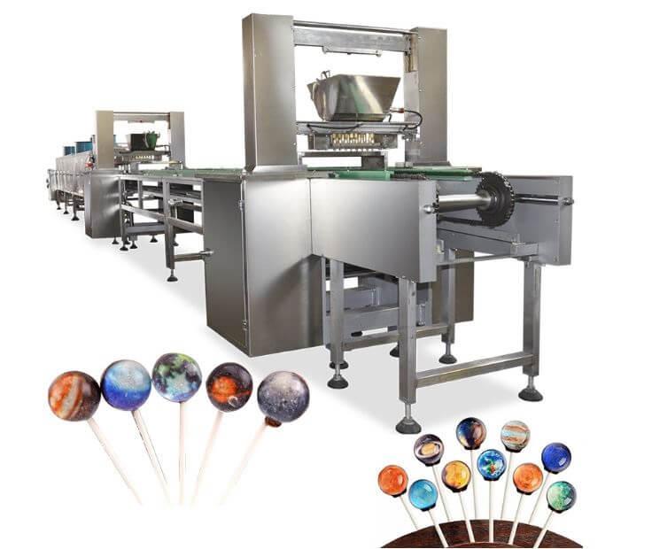 Figure 1 Lollipop making machine