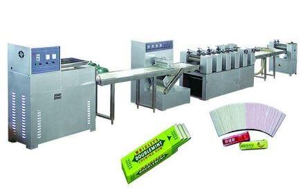 Figure 4 Chewing gum making machine